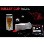 Bullet Cup Copo De Shot Para Dinks Bala Munição Vidro Duplo