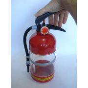 Porta Bebidas Extintor De Incêndio Bombeiro Bartender