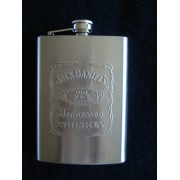 Garrafa De Bolso Jack Daniels Grande Aço Inox 240ml