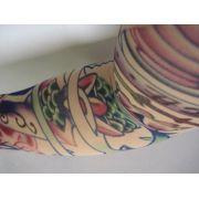 Manga Tatuagem Tatoo Spandex Mod 070 Olho