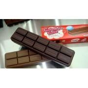 Estojo Barra De Chocolate Ao Leite E Amargo Material Escolar