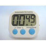Timer Temporizador Digital Progressivo Regressivo Branco 4