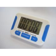 Timer Digital Cronometro Progressivo Regressivo Branco 5