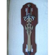 Espada Guerreiro Decorativa Ornamental 66cm Dj11415