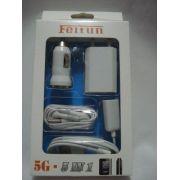Kit 5 Em 1 Acessórios P/ Iphone 5