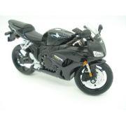 Miniatura Moto Honda Cbr 1000rr Escala 1/12 Maisto Preta