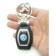 Chaveiro Volkswagen Argola Dupla Volks Marca Carro