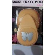Furador Scrapbook Borboleta 2 Corte 1,5cm Festa Craft Punch