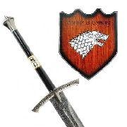 Espada Medieval Game Of Thrones Winter Is Coming 116cm