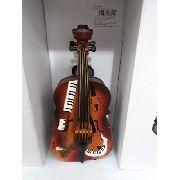 Cofre Resina Violoncelo Orquestra Vintage Retro