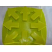 Forma De Silicone Flecha Seta Gelo Chocolate Forminha