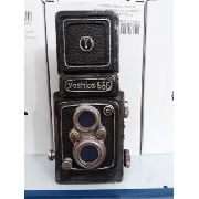 Cofre Resina Maquina Fotográfica Rolo Vintage Retro