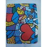Caderno Romero Britto Bloco De Notas Notebook Mod2