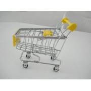 Carrinho Supermercado Organizador Mesa Porta Canetas
