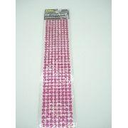 Conjunto Adesivo Destacável Brilho Pink