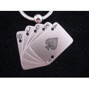 Chaveiro Poker Royal Straigth Flush Frete Gratis