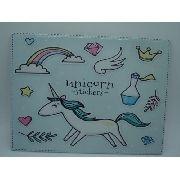 Placa Decorativa Unicórnio 26x20cm Mod05