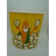 Balde Pipoca Grande 20x21cm Pop Corn Pvc Bowl