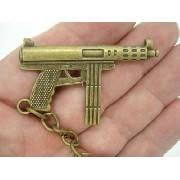 Chaveiro Mini Fuzil Militar Vintage Mod4