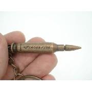 Chaveiro Munição Cross Fire Militar Vintage Cobre