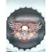 Placa Metal Harley Davidson Bike To The Bone Coleção