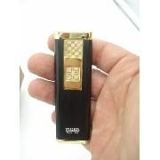 Isqueiro Luxo Recarregável Usb Elétrico Eletrônico Preto