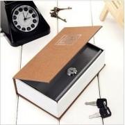 Cofre Em Forma Livro Dicionario Aço Joias Dinheiro Camuflado 17,5 X 10,5 X 3,5cm