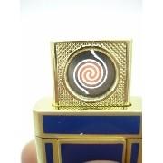 Isqueiro Luxo Recarregável Usb Elétrico Eletrônico Azul