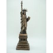 Miniatura Estatua Da Liberdade New York Metal Enfeite Luxo