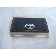10 Peças Porta Cartão De Visitas Toyota Inox