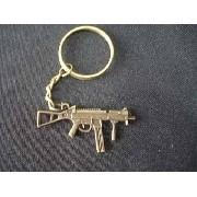 Chaveiro Mini Metralhadora Militar Vintage