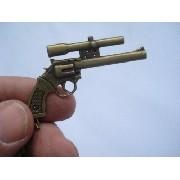 Chaveiro Mini Revolver Magnum Gun Militar Vintage