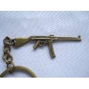 Chaveiro Mini Fuzil Militar Vintage