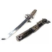 Espada Katana Tanto Dragão Alado Mod 83002