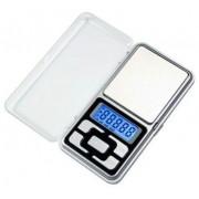 Mini Balança Digital De Precisão 0,1 - 500gr Brinde Pilhas