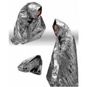 Cobertor Termico De Emergencia Aluminizado 210x130 Cm