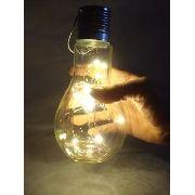 Lâmpada Iluminação Decoração Fio De Led Abajur