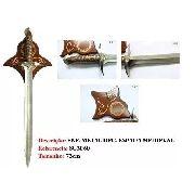 Espada Frodo Senhor Dos Anéis Suporte De Parede