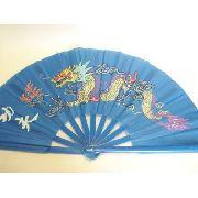 10 Peças Leque Oriental Dragon Dança Kung Fu Tai Chi Chuan