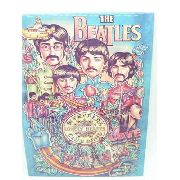 Placa Metal The Beatles 27x20cm Sargent Pepper