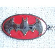Chaveiro Emblema Batman Logo Vermelho Coleção