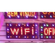Letreiro Luminoso Placa De Led Wi Fi