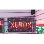 Letreiro Luminoso Placa De Led Xerox