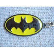 Chaveiro Emblema Batman Logo Amarelo Coleção