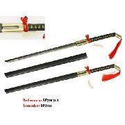 Espada Samurai 108cm Katana Dragão Red Tail Oriental