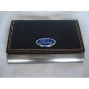 Porta Cartão De Visitas Ford Inox