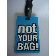 Chaveiro Identificação Malas Not Your Bag Viagem