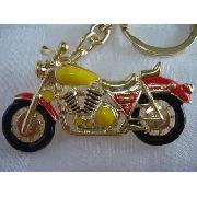 Chaveiro Moto Esportiva Vintage Inox