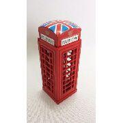 Apontador Cabine Telefone Londrino Retro Coleção Londres