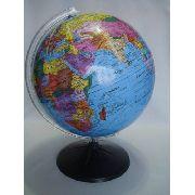 Globo Terrestre Grande 30cm Planisferio Escolar Mapa Atlas